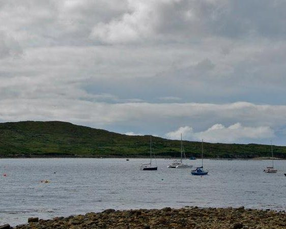 Sailing in Clifden