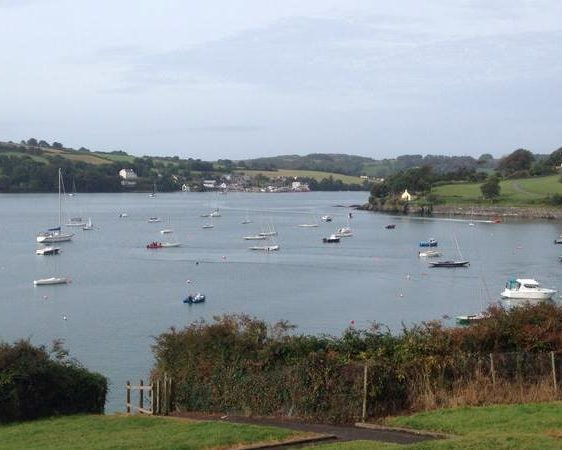 Sailing in Glandore