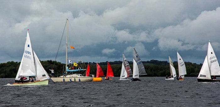 Sailing in Lough Ree