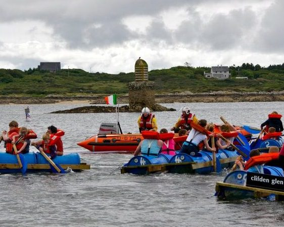 Race sailing in Clifden