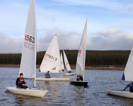 Race sailing in Tralee