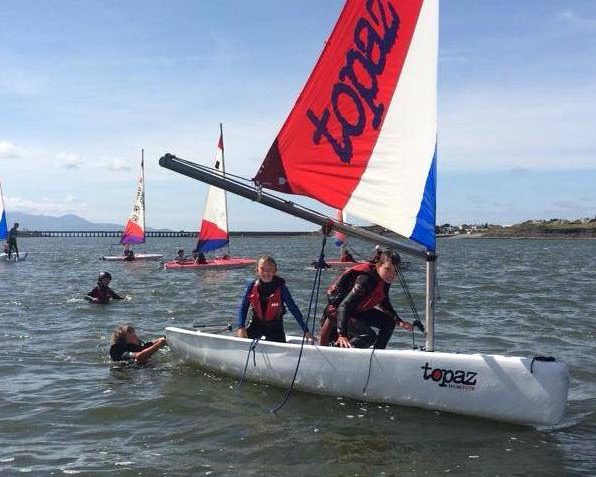 Sailing in Tralee for kids