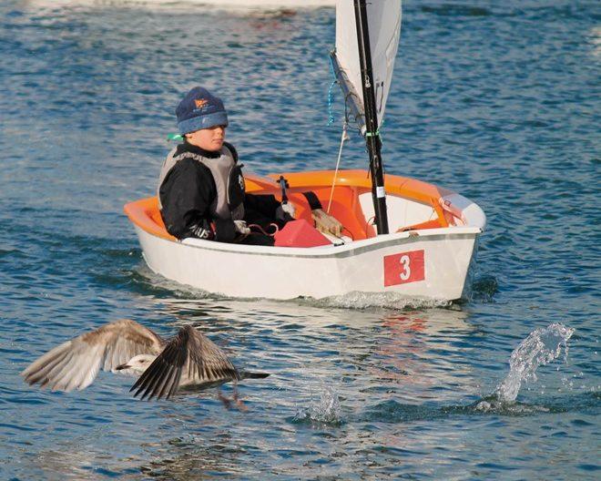 Sailing races Lough Ree